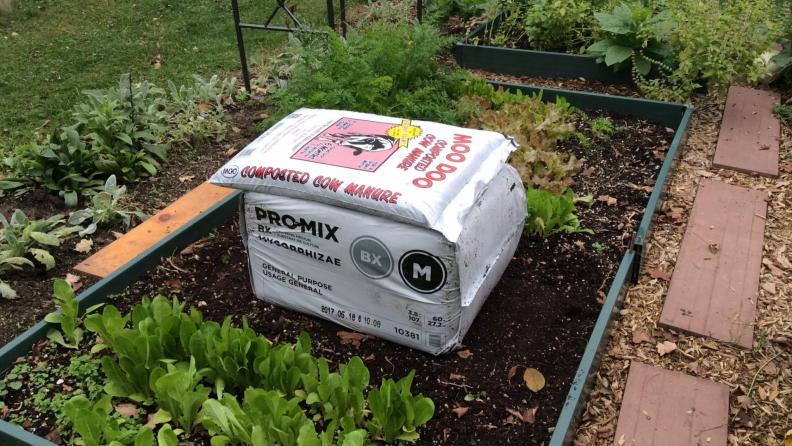 Organic soil and manure