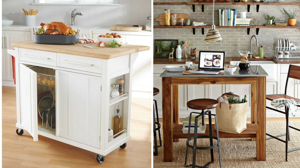 These 10 portable islands work hard in your kitchen reviewed