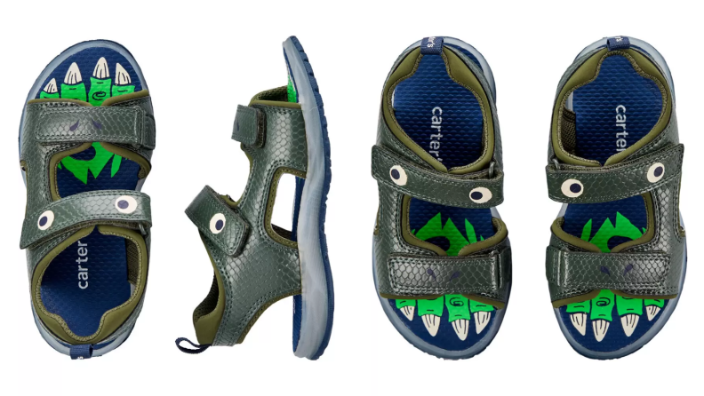 Dino sandals
