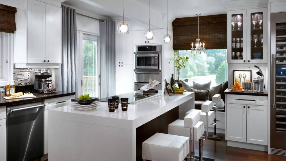 Designer and former-HGTV host Candice Olson created this kitchen using Thermador appliances