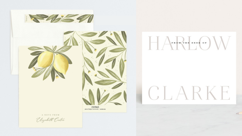 minted stationary