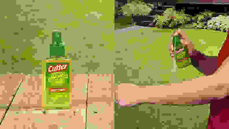 Cutter Lemon Eucalyptus Insect Repellent