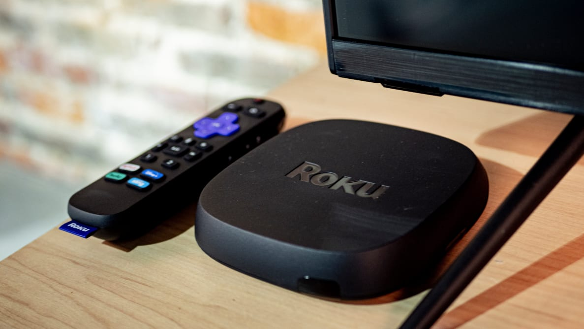 The Roku Ultra (2020) with remote