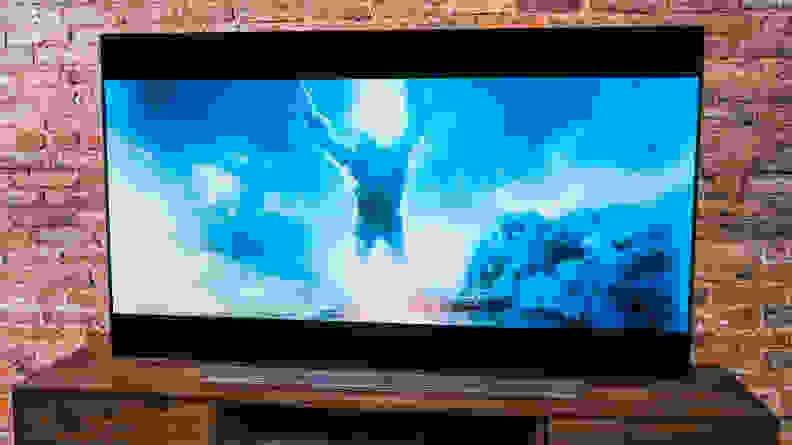 LG C1 OLED TV - Brightness Limitations