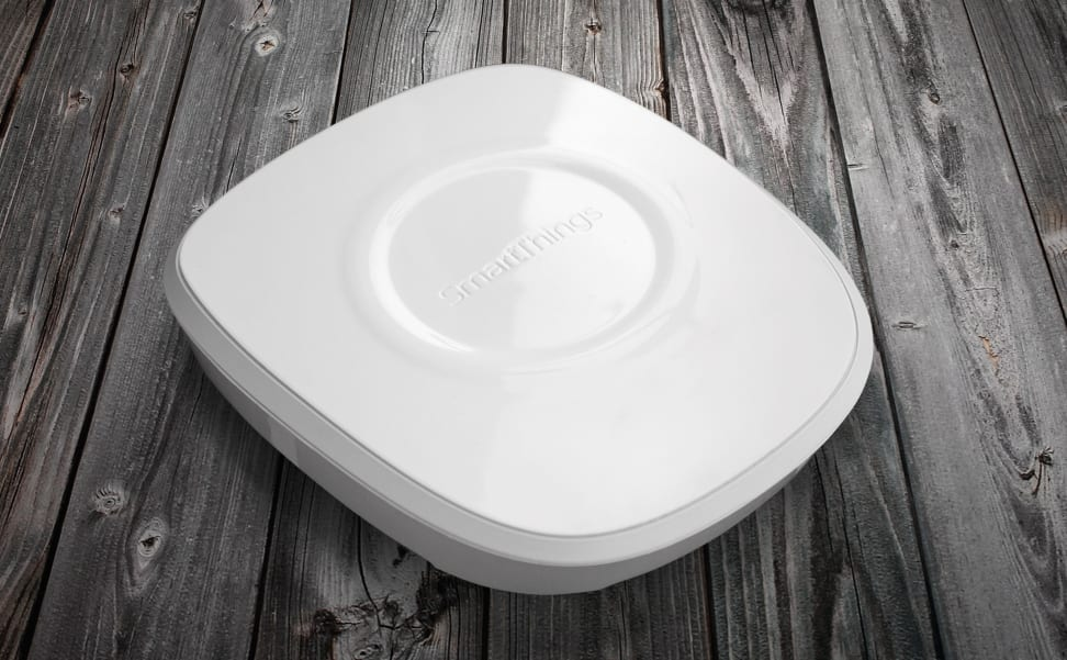 The new SmartThings hub, which supports Z-Wave