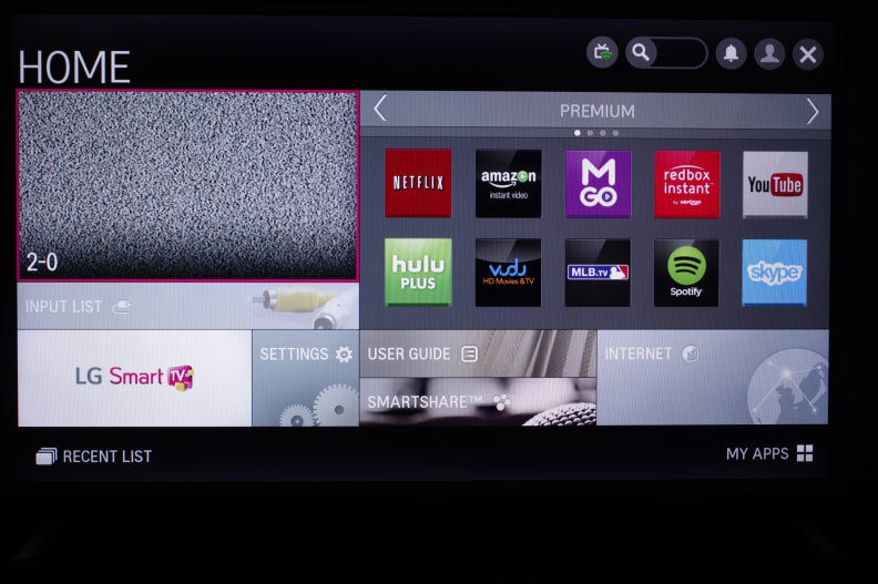 The LG smart home