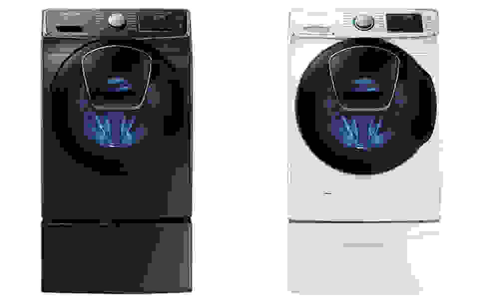 Samsung AddWash Silver and White