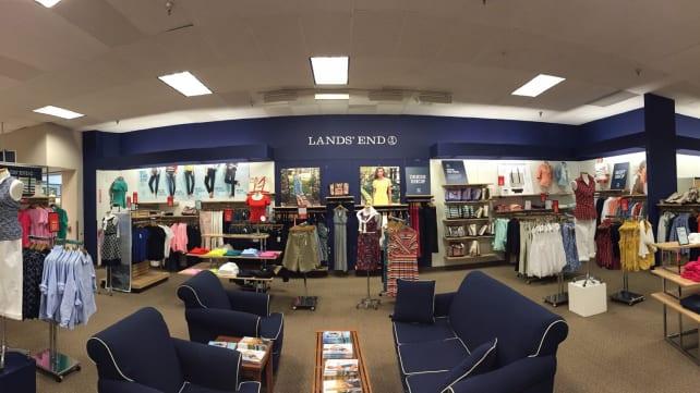 Lands' End Store Interior