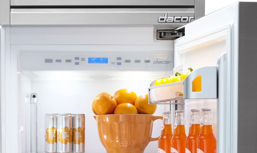 The new Dacor Discovery Fully Integrated Refrigerator