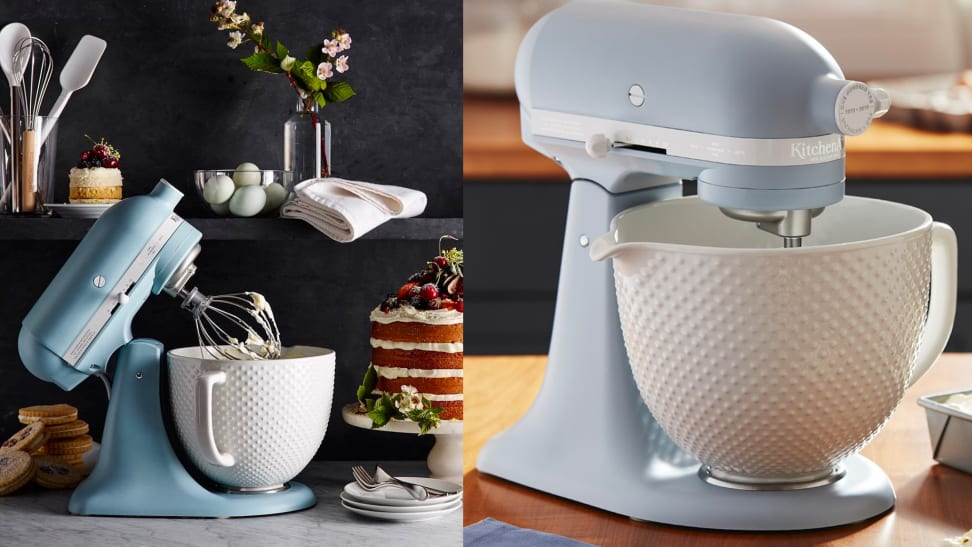 Kitchenaid S Stand Mixer Rocks A New Color Misty Blue