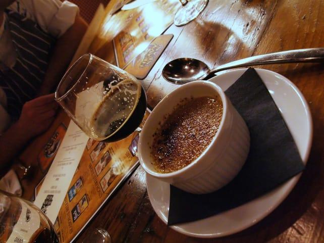 Chocolate Stout and Crème Brûlée
