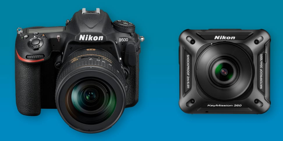 Nikon announces both the D500 as well as the KeyMission 360 at CES 2016.