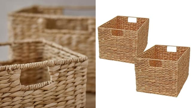 A Pair Of Seagrass Baskets For A Relaxed Vibe