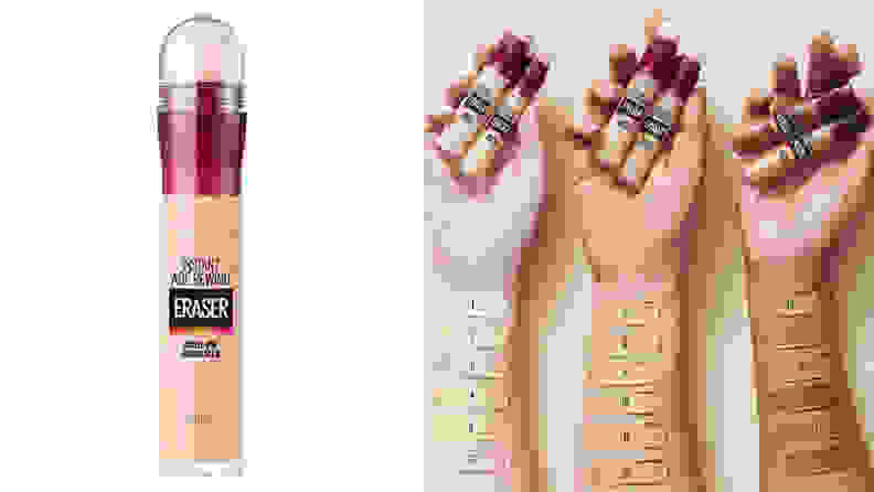 A photo of the Maybelline Instant Age Rewind Concealer.
