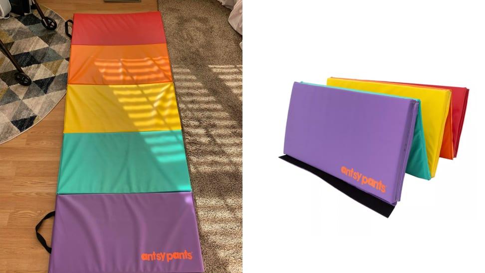 antsy pants exercise mat