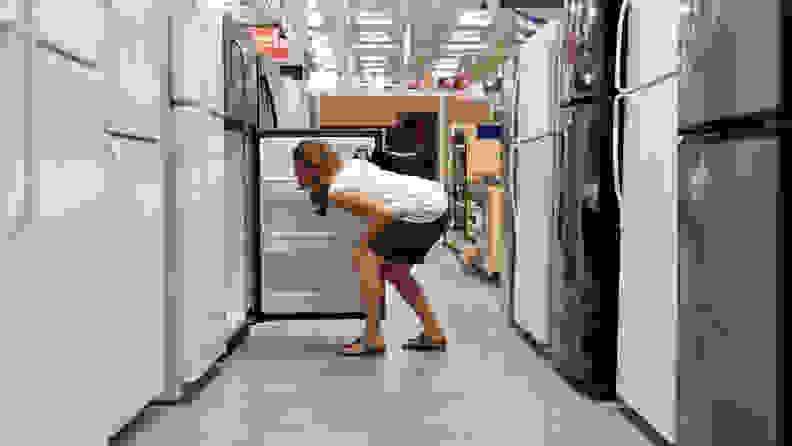 Refrigerator-capacity