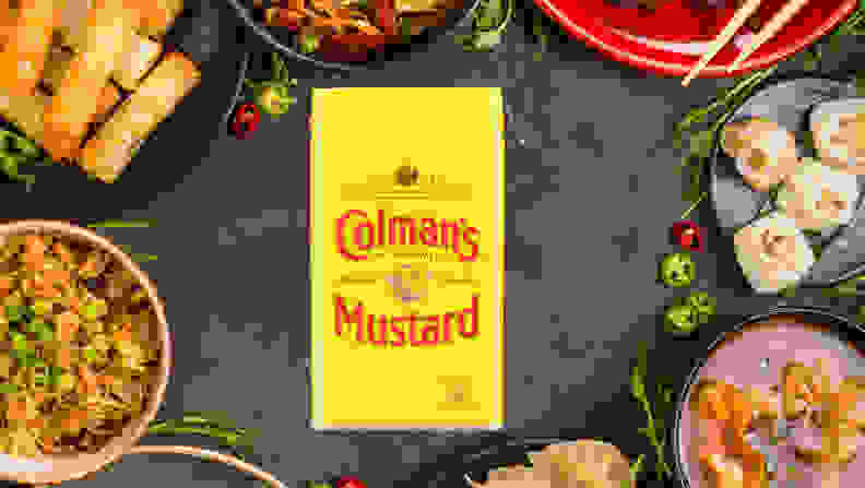Colmans Mustard and Chinese Food