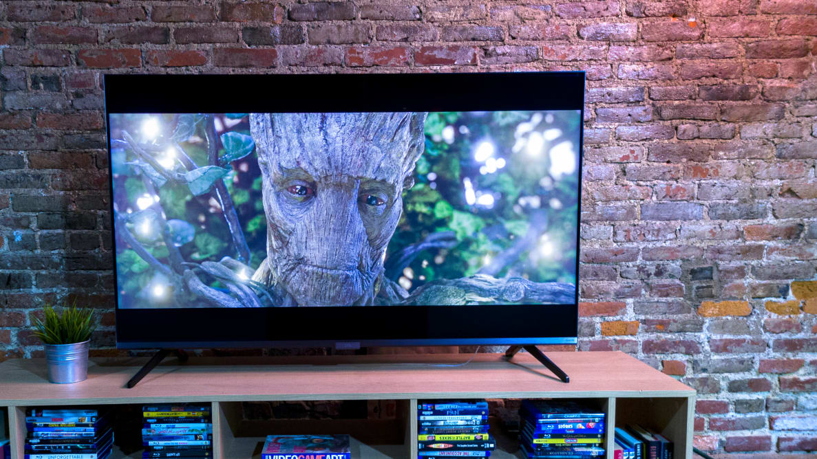 The 2020 TCL 6-Series with HDR content