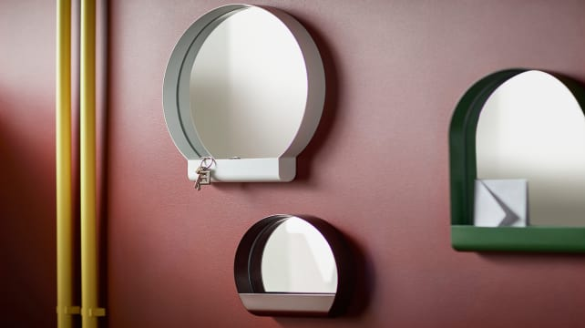 Ikea-mirrors