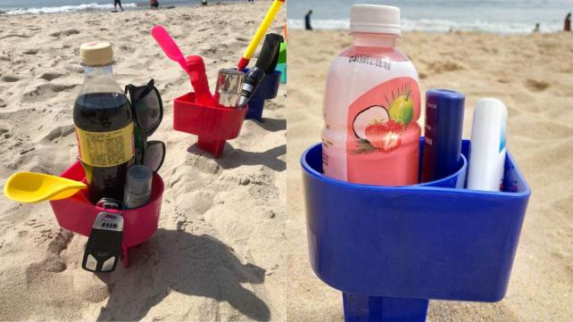 beach cup holder