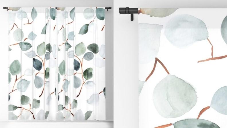 Eucalyptus Curtains