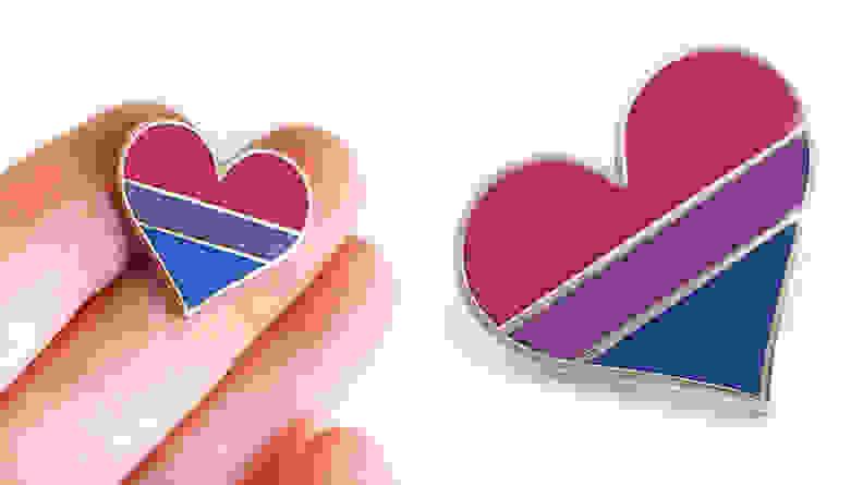 Compoco Bisexual Pride Pin