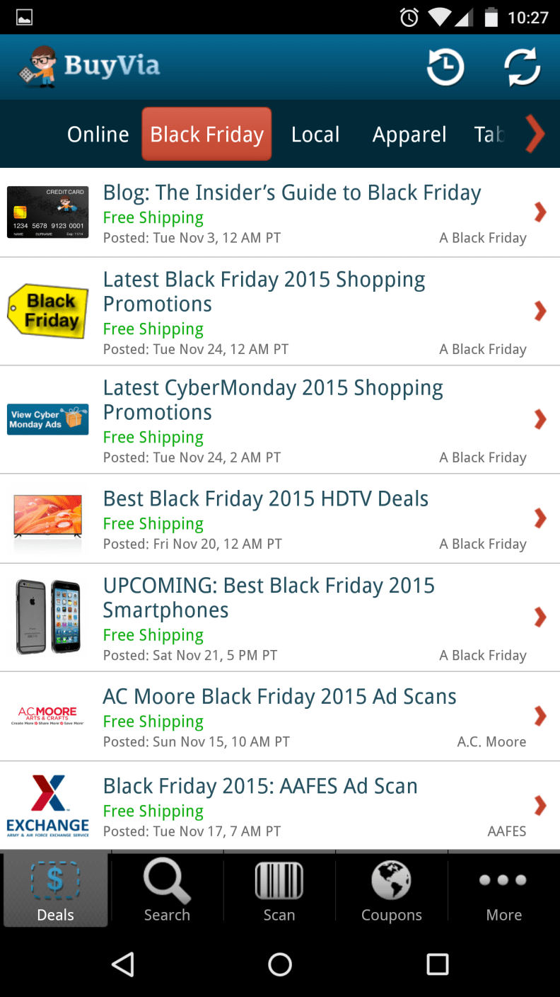 7 Apps To Help You Survive Black Friday Shopping Reviewed Cameras