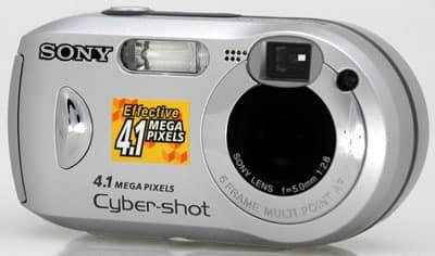 Sony DSC-P41 Camera USB Windows