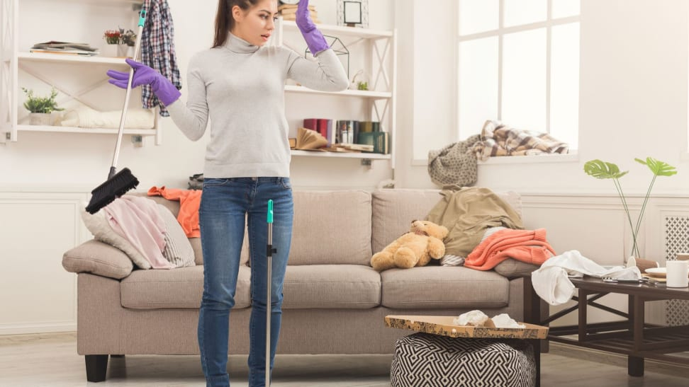 Your house is full of mold and bacteria