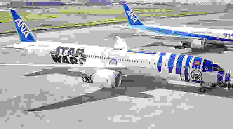 ANA Star Wars plane
