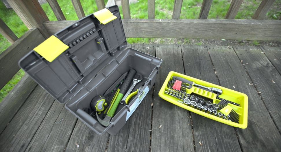 The evolv 52-piece toolkit by Craftsman is our top pick