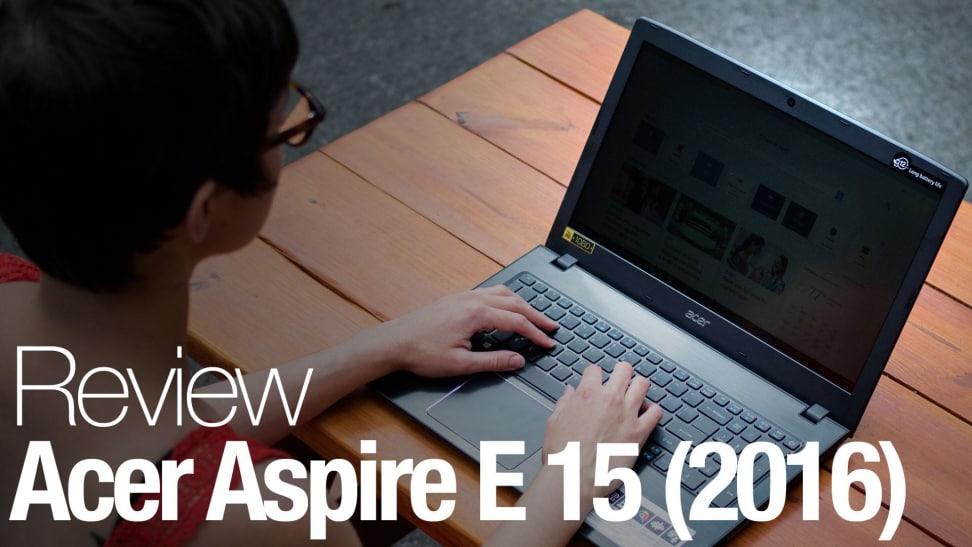 Product Image - Acer Aspire E 15 (2016, Intel Core i5, 256GB, 8GB RAM)