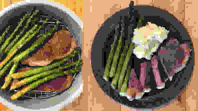 Ninja Foodi - Steak Dinner