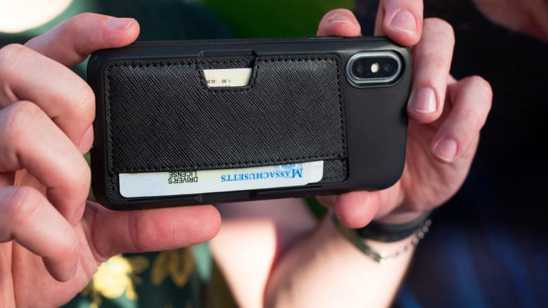 Apple iPhone X In Protective Case