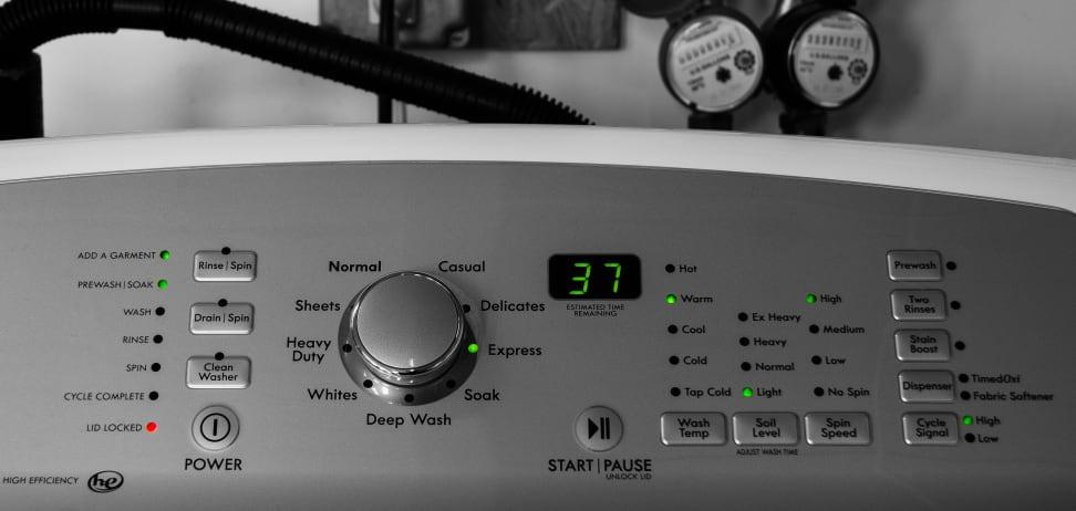 A washing machine timer