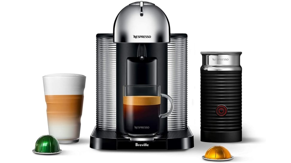This Nespresso machine and milk frother are $96 off!