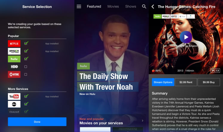 app to find streaming movies