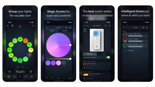 iConnect Hue Smarthome App