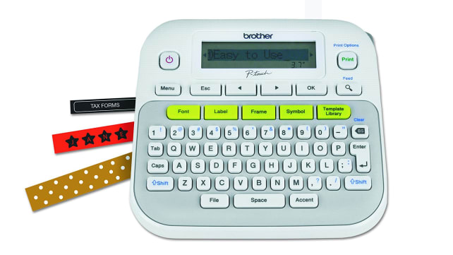 Brother P-touch Easy-to-Use Label Maker