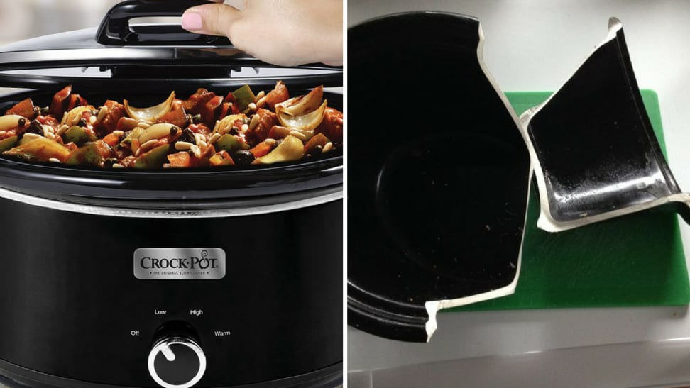 Broken slow cooker
