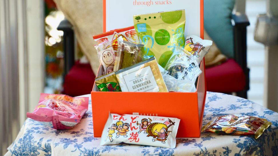 This Bokksu box of Japanese snacks will make you feel like you're (virtually) traveling