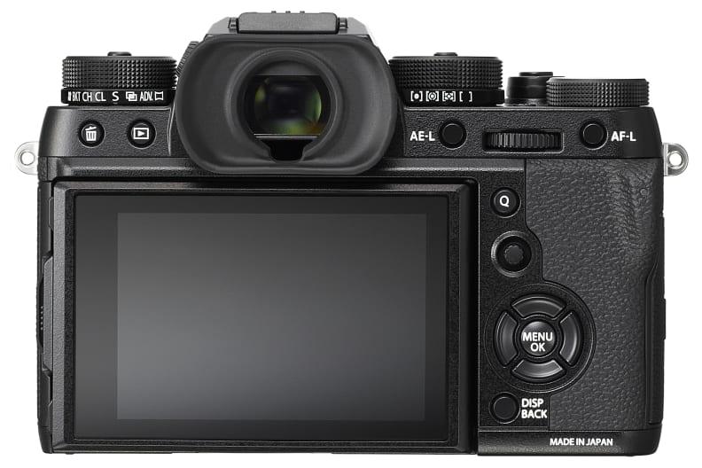 Fujifilm X-T2 Back Panel