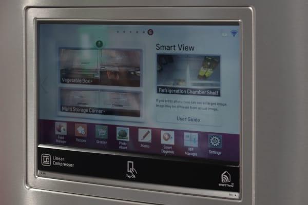 lg smartview fridge camera