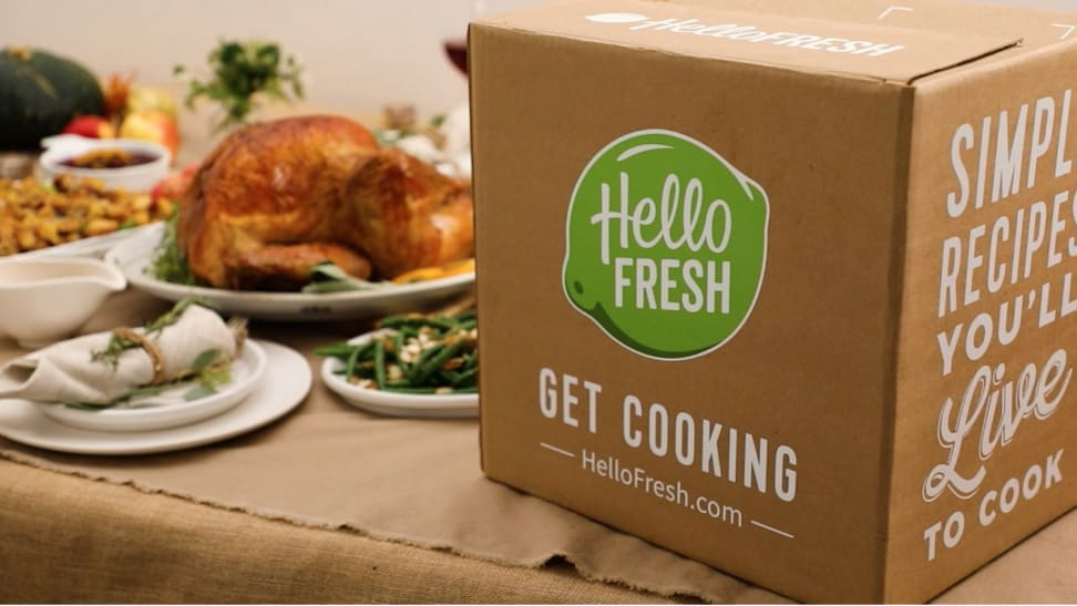 Now is your last chance to get the HelloFresh Thanksgiving Box
