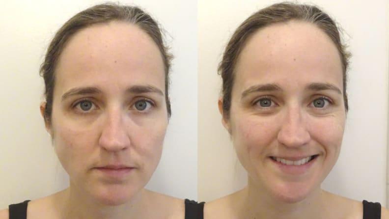 Before Neutrogena Rapid Wrinkle Repair