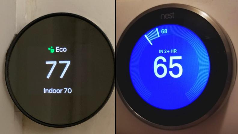 Nest Thermostat vs Nest Learning Thermostat