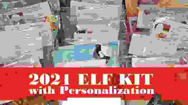 A full 24-set of elf kits in a box.