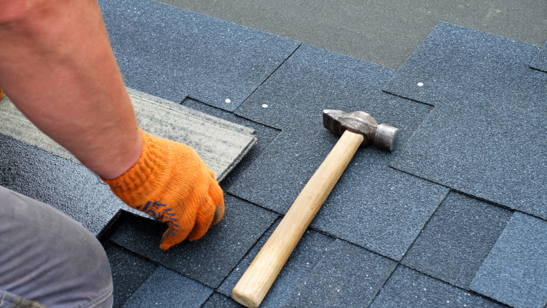 When redoing your roof, make sure to use a proper ice and water shield underlayment.