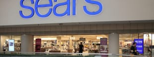 Sears store in mall