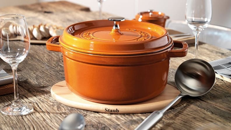 Staub Dutch oven - orange